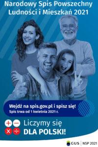Narodowy Spis Powszechny Ludności i Mieszkań (NSP 2021)